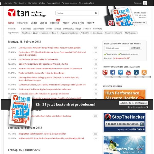 Das Magazin für Digitales Business