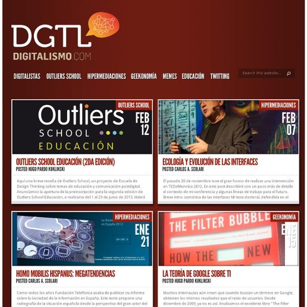 dMagazine en comunicación, geekonomía e hipermediaciones