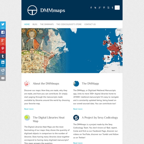 Medieval Manuscripts & Maps Digitized