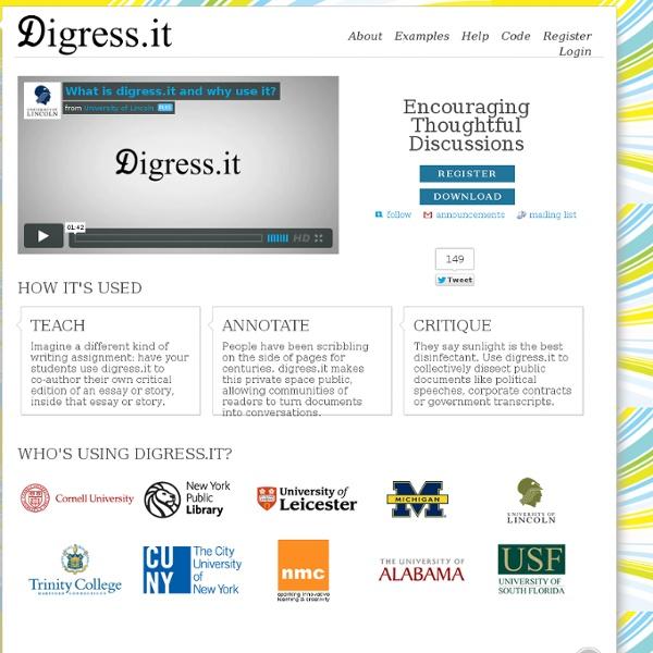 Digress.it