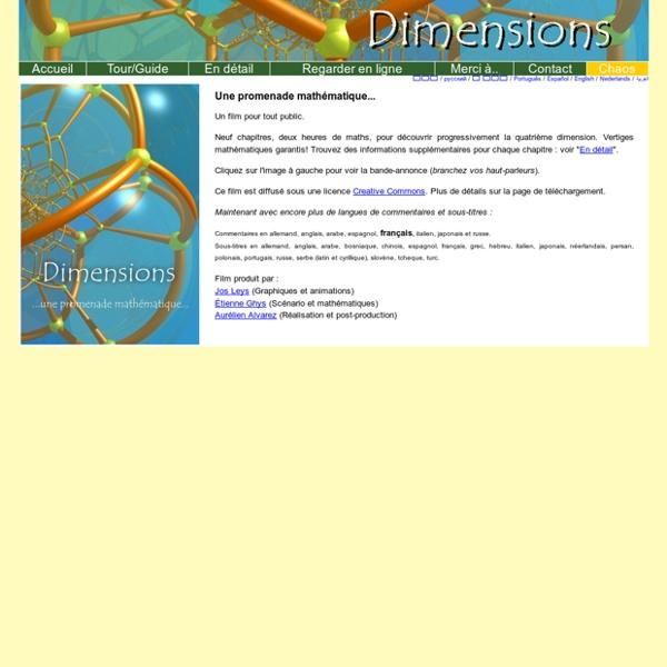 Dimensions Accueil