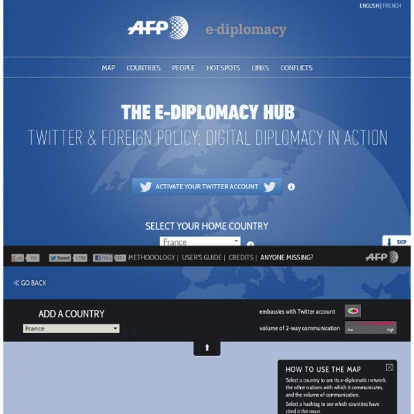 The e-diplomacy Hub, A real-time window onto digital diplomacy in action
