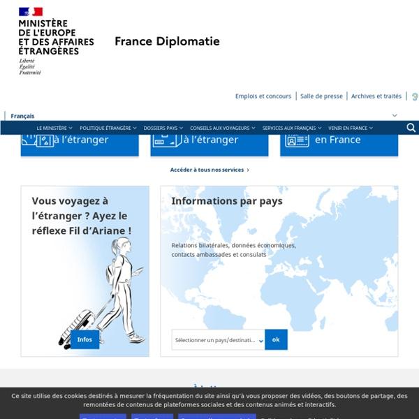 France-Diplomatie - Ministère des Affaires étrangères et du Développement international