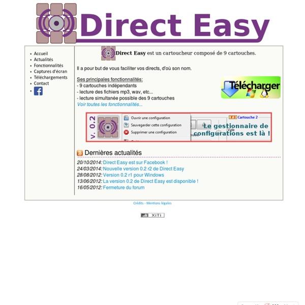 Direct Easy - Cartoucheur