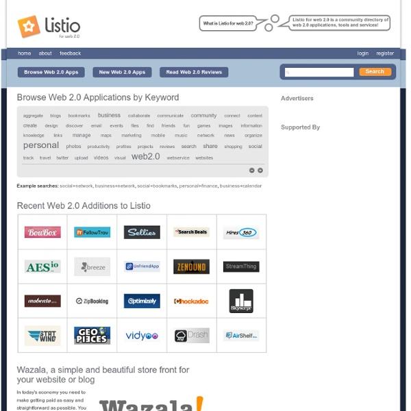 Web 2.0 Applications