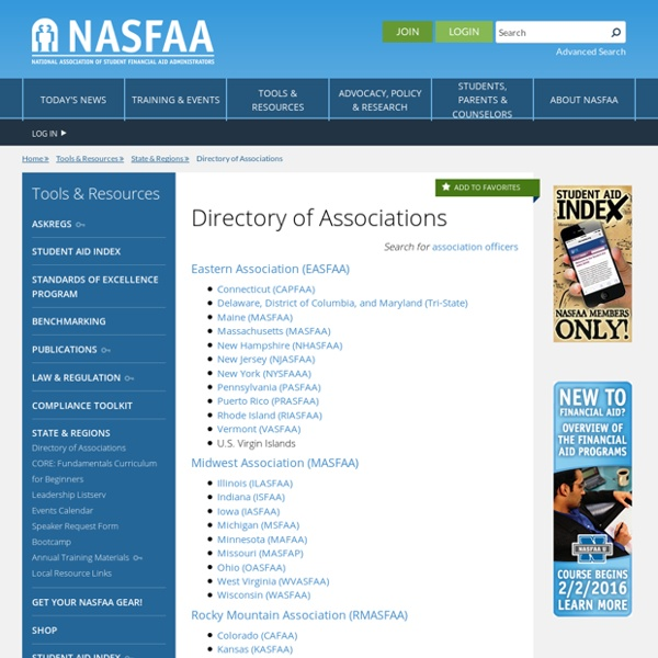 Directory of Associations