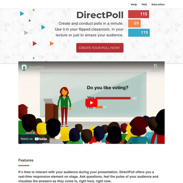 DirectPoll - Instant Polling & Real-Time Visualization