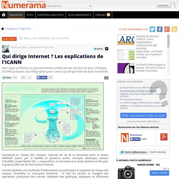 Qui dirige Internet ? Les explications de l'ICANN