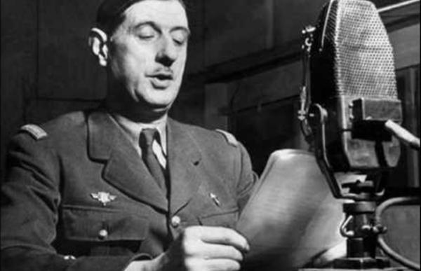 Appel du 18 juin 1940 - DIscours enregistrée le 22 juin 1940 par le Général de Gaulle