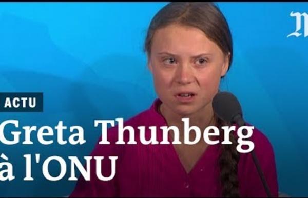 Le discours de Greta Thunberg à l'ONU