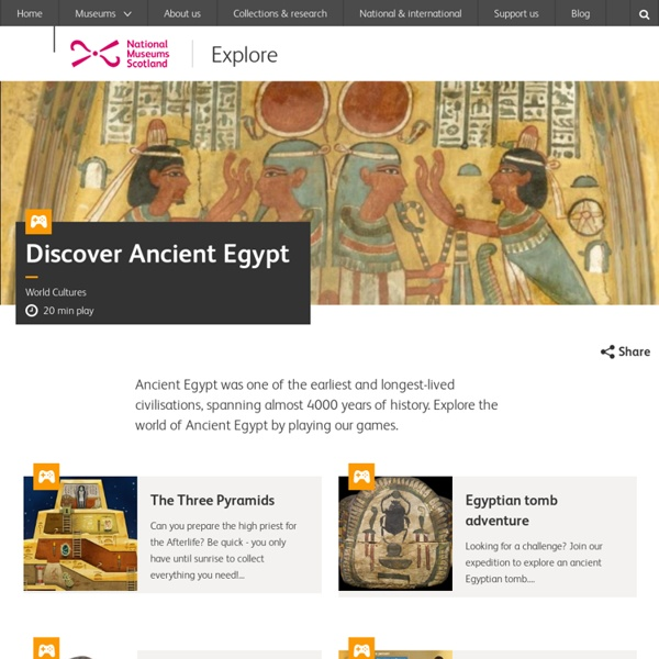 Discover the Egyptians