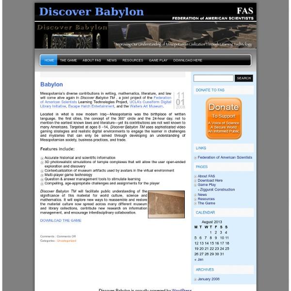 Discover Babylon