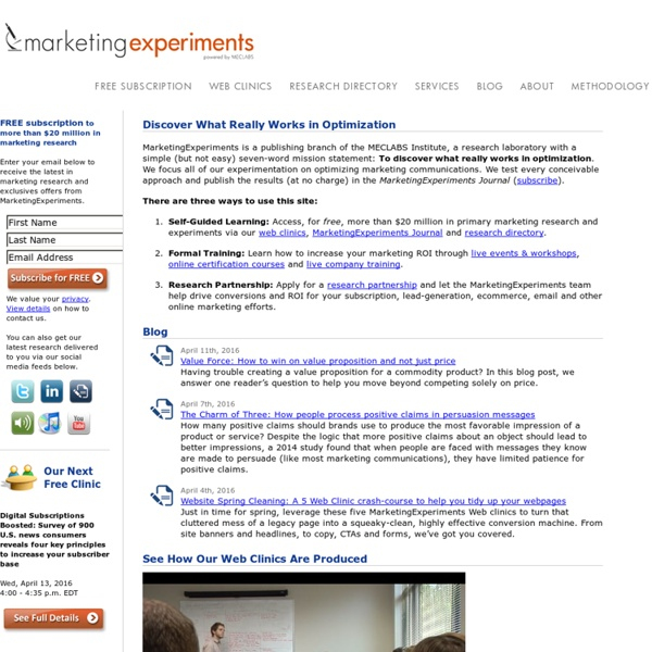 Discover Which Marketing Programs Really Work