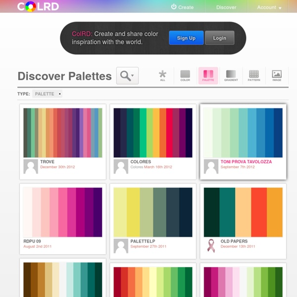 Discover Palettes
