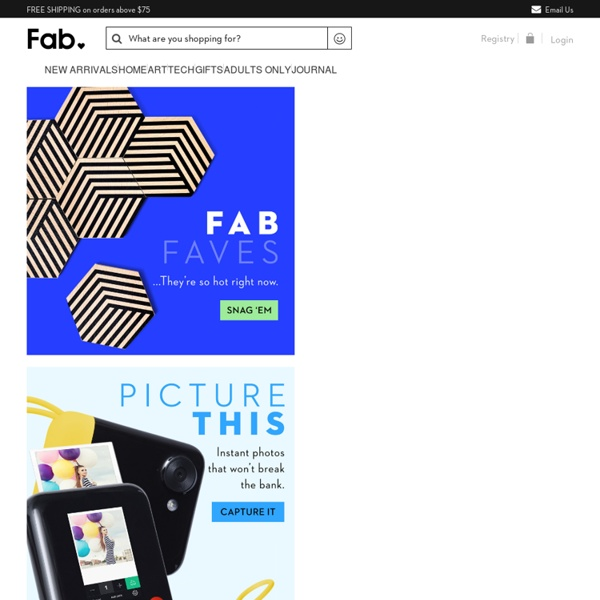 Fab is Everyday Design.