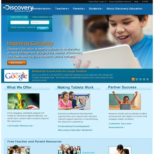 Discovery Education streaming