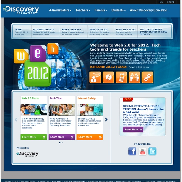 Discovery Education Web2012 : Home
