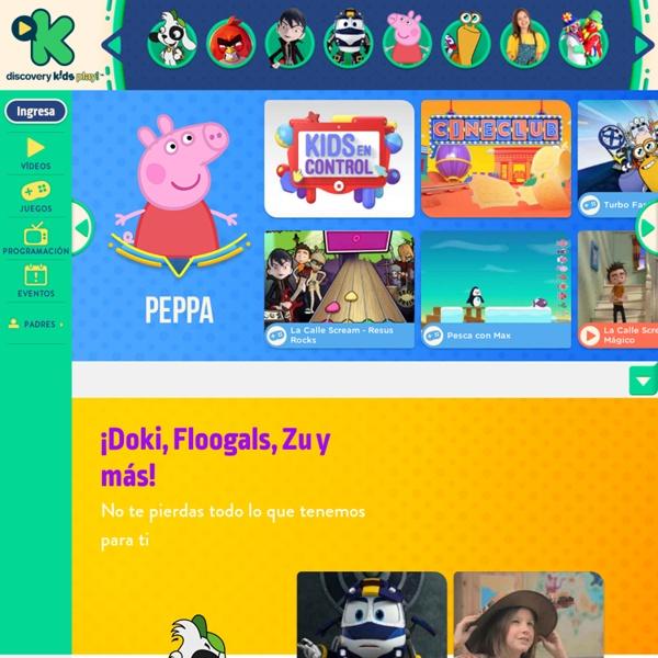 Página Principal - tudiscoverykids.com