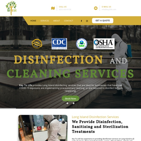 Long Island Disinfection & Cleaning Services □ Key To Life LLC