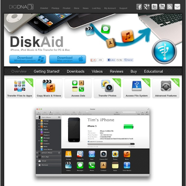 DiskAid – iPhone, iPad & iPod Music & File Transfer for PC & Mac