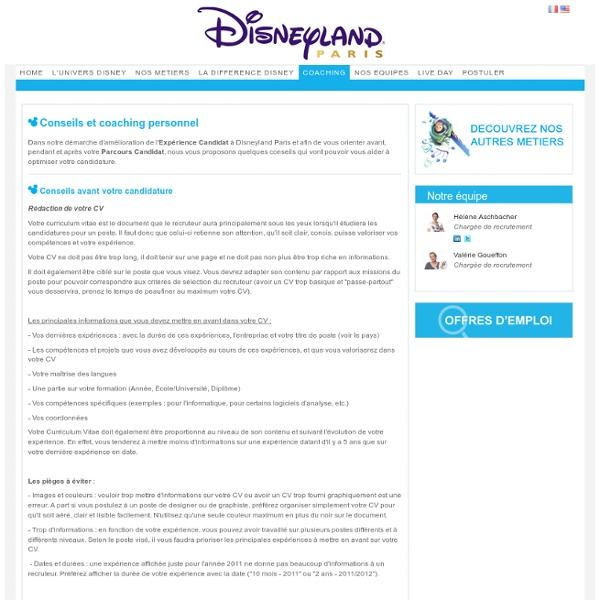 disneyland paris careers