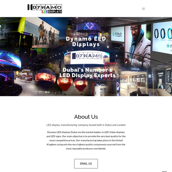 Dubai's Number 1 LED Display Experts