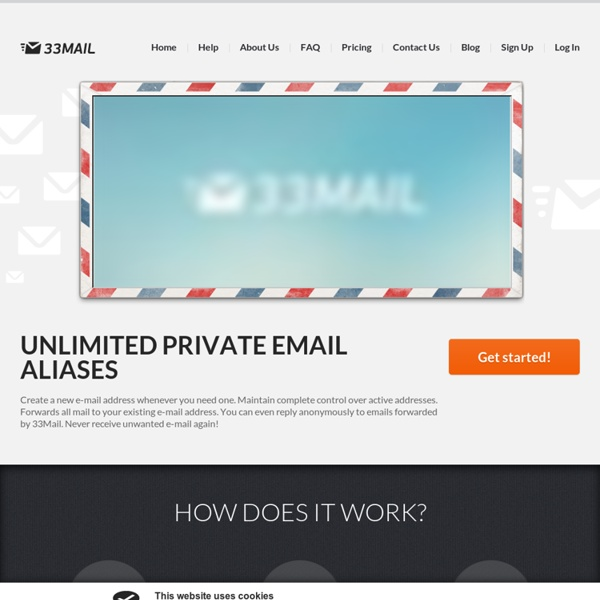 Servicio fácil libre desechable dirección de correo electrónico, direcciones de correo electrónico anónimos desechables gratuita
