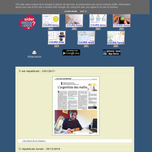 - Dispositif maths-videos.com -