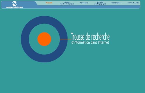 Cégep@distance / Trousse de recherche