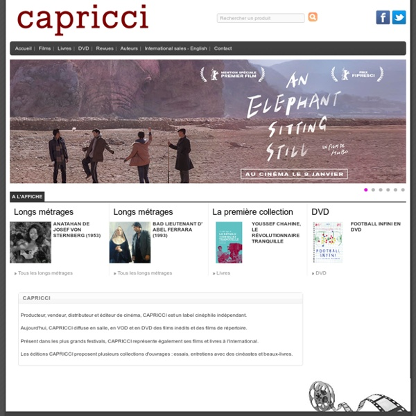 CAPRICCI - capricci : index
