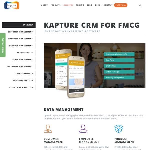 Distribution CRM Software