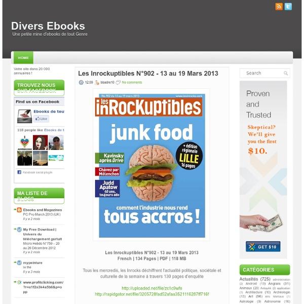 Divers Ebooks