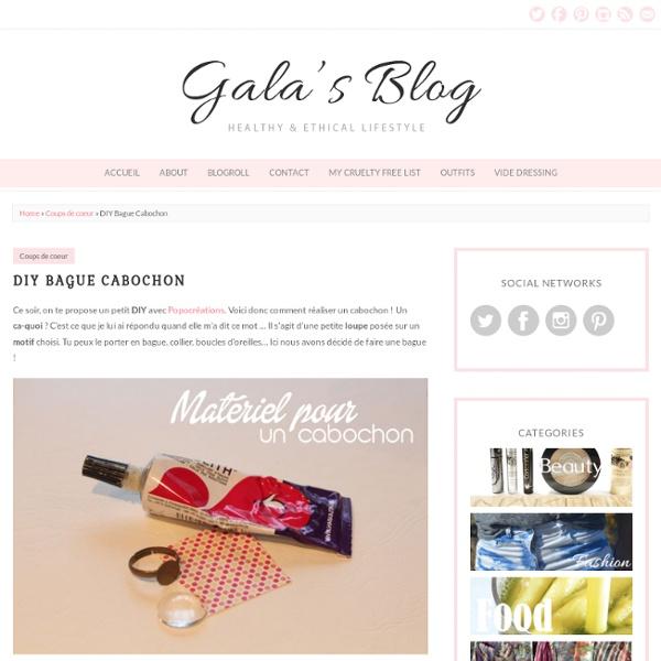 Gala's blog DIY Bague Cabochon » Gala's blog