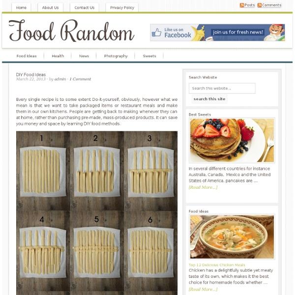 Diy food ideas pearltrees diy food ideas solutioingenieria Gallery