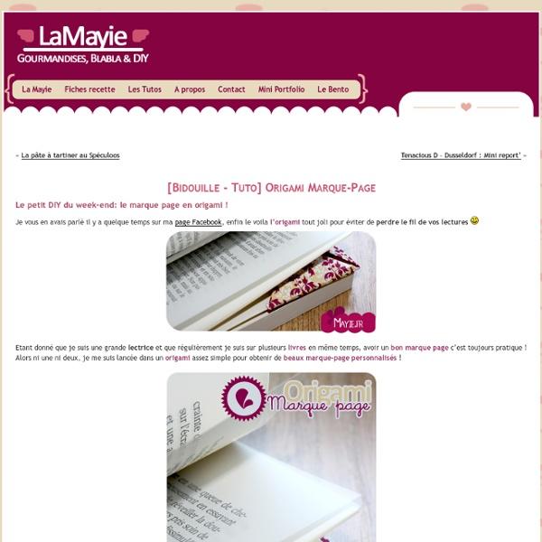 DIY Origami Marque-Page