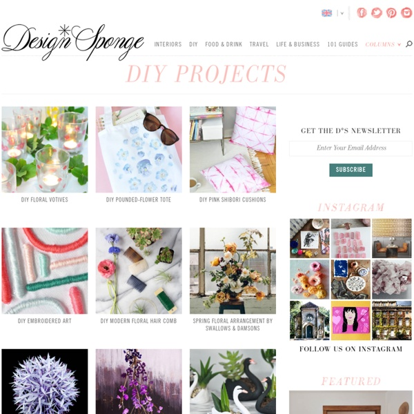 Design*Sponge » diy projects