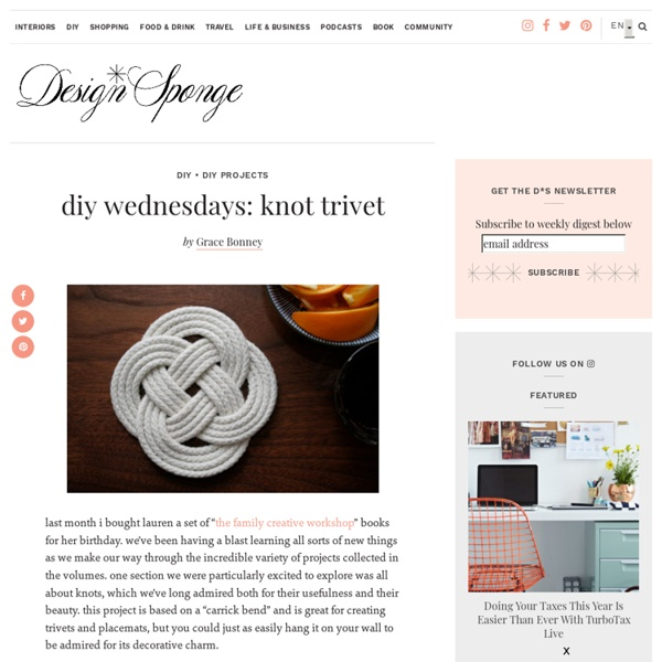 Knot Trivet