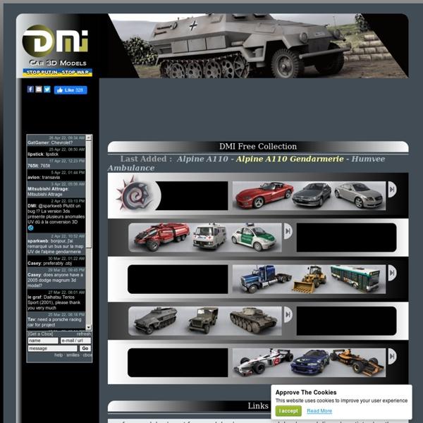 DMI Car 3D Models