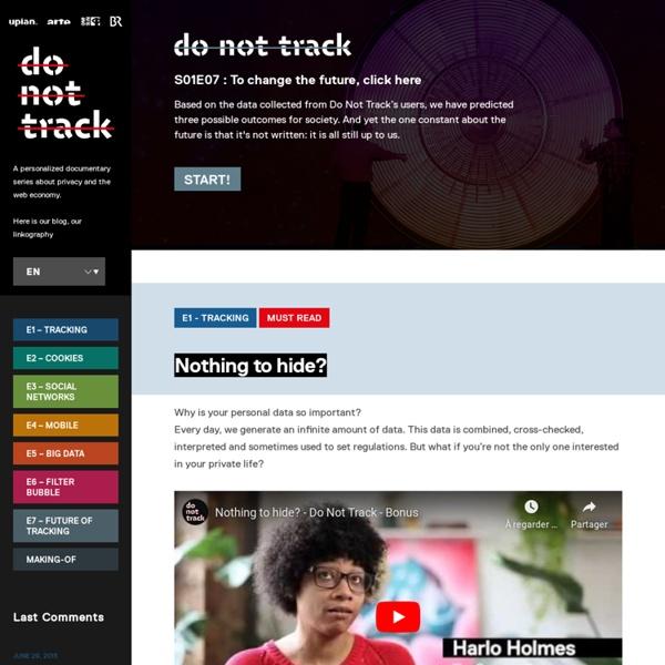Do Not Track - Blog & Linkography