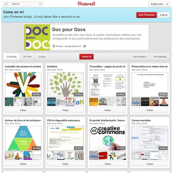 PINTEREST Doc pour docs : Doc pour Docs on Pinterest