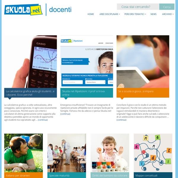 Skuola.net - Docenti