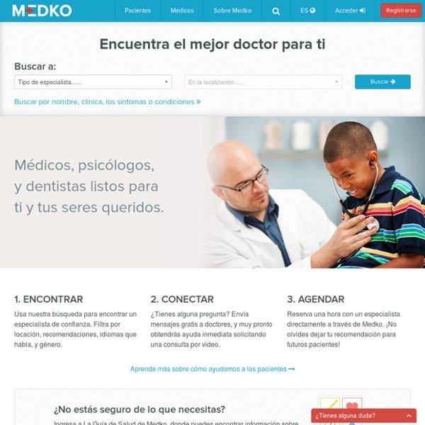 Medko Conecta Doctores y Pacientes