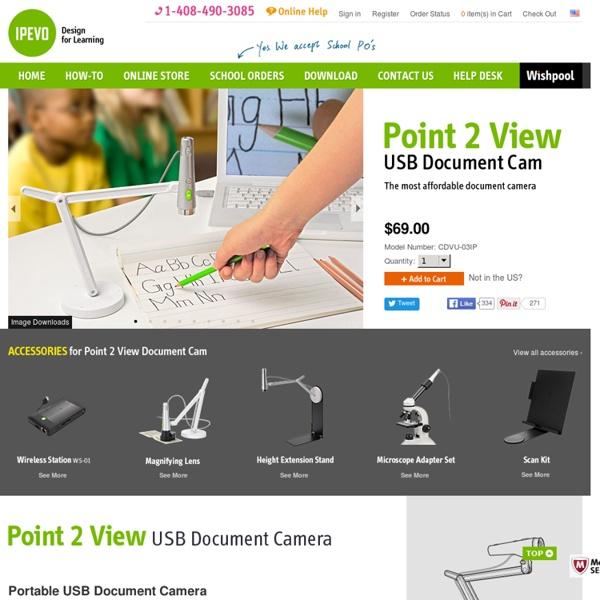 Point 2 View (P2V) USB Document Camera