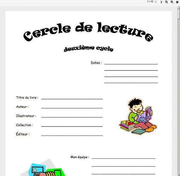 Www.csportneuf.qc.ca/sed/ccarette/tous_les_cycles/Document cercle de lecture.pdf