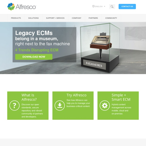 ALFRESCO - Document Management System