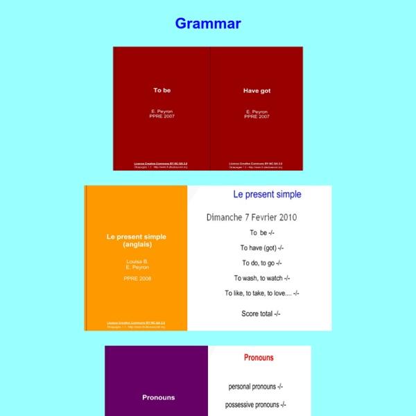 Grammaire Collège