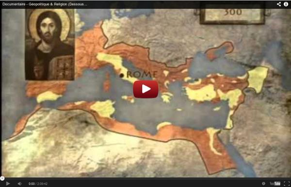 Documentaire - Géopolitique & Religion (Dessous des Cartes - Arte)
