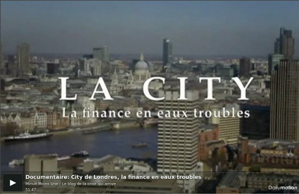 City de Londres, la finance en eaux troubles - Documentaire
