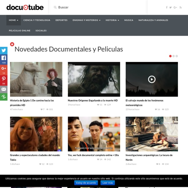 Documentales online gratis:Youtube,Historia,Animales,Tv,la 2