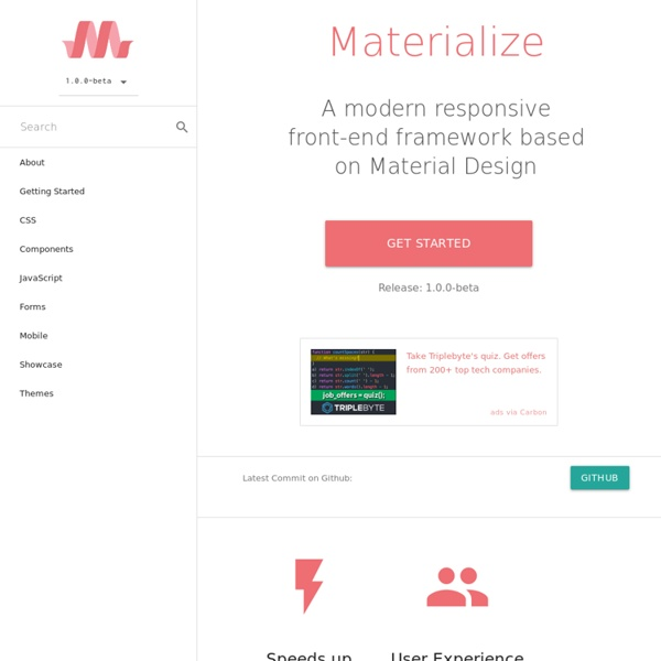 Documentation - Materialize